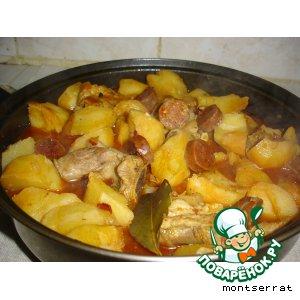 Рецепт: Картофель в стиле ла Риоха
