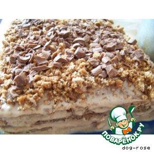 Шоколадно-ореховый торт Юбилейный
