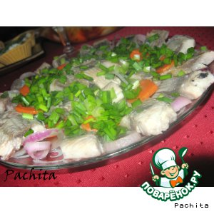 Рецепт: Финская рыбная закуска Гласмэстарсиль