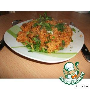 Рецепт Булгур с овощами