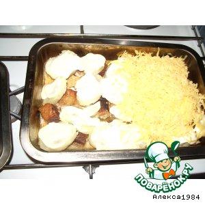 Рецепт: Мясо под шубой