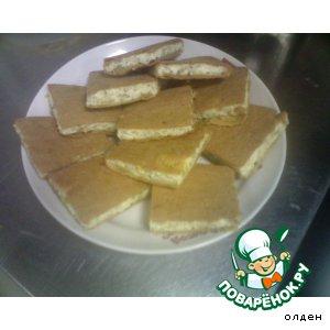 Рецепт: Французский пирог с сыром и луком