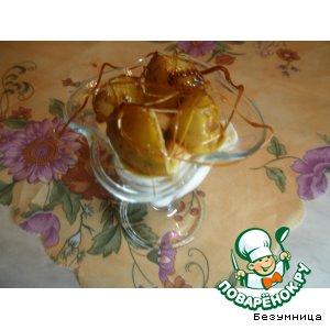 Рецепт: Жареные груши с мороженым