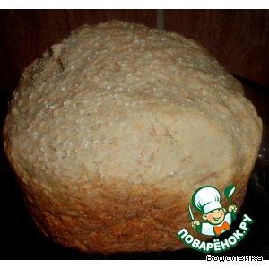 Рецепт: Пшенично-ячменный хлеб (для ХП)