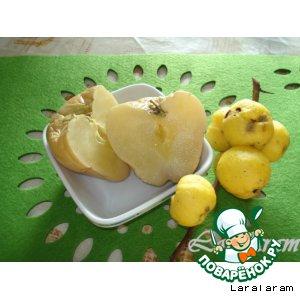 Рецепт: Яблоки мочeные Молодильные