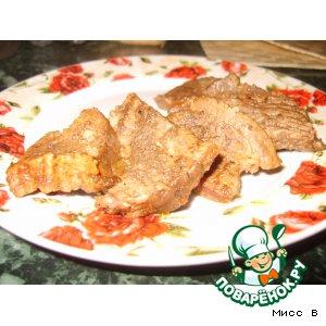 Рецепт: Телятина с чесноком по-югославски