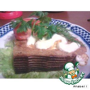 Рецепт: Супер-пупер бутерброд
