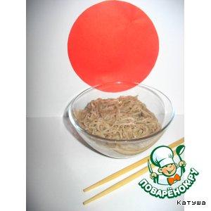 Рецепт: Тосикоси соба