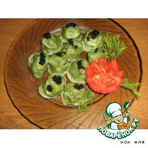 Рецепт: Морская капуста Зелeное болото