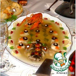 Рецепт: Заливная рыбка