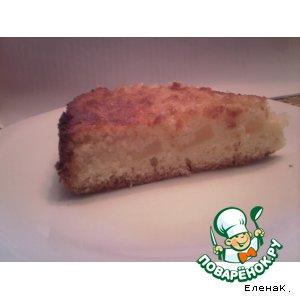 Рецепт: Ананасово-кокосовый пирог