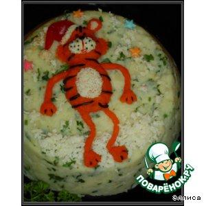 """Закусочный торт """"Тигруля"""""""