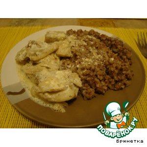 Рецепт: Рыба в луковом манто