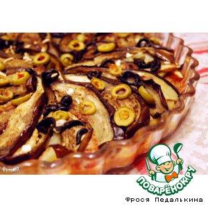 Рецепт: Пирог с баклажанами