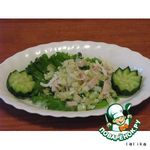Рецепт: Салат для Лерочки