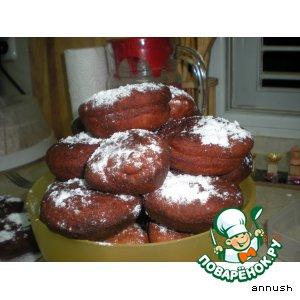 Рецепт: Суфганиет - пончики из ржаной муки