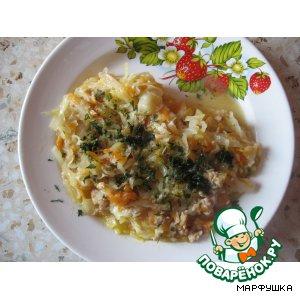 Рецепт: Рагу овощное с фаршем Хочу еще