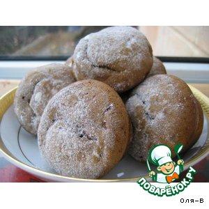 Рецепт: Мини-кексы с халвой и изюмом