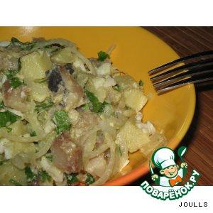 Рецепт: Голландский рыбный салат