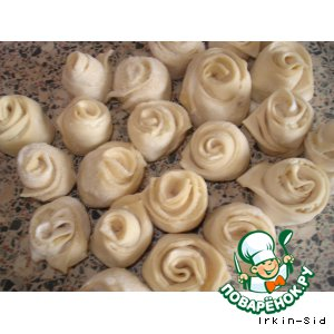 Рецепт: Розы