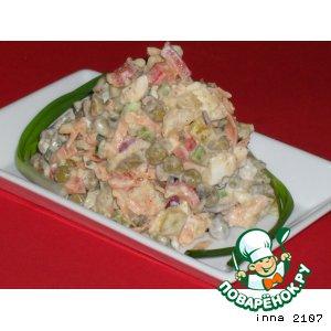 Рецепт: Картофельный салат Эрмитаж