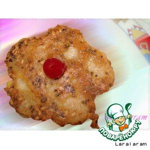 Рецепт: Закуска Лютики-цветочки