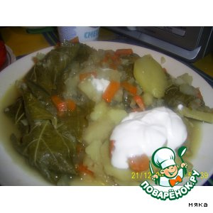 Рецепт: Долма с овощами