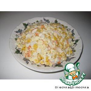 "Рецепт: Салатик ""Краб"""