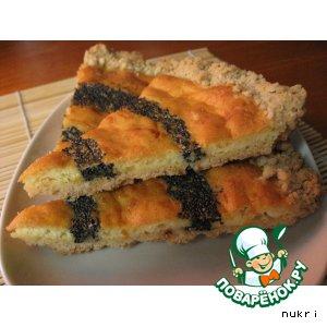 Рецепт: Маковый пирог