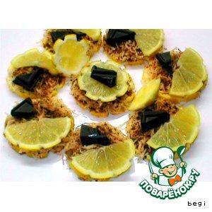 Рецепт: Закуска лимонная к коньяку