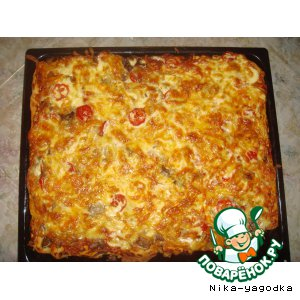 Ordinary with an extraordinary pizza dough