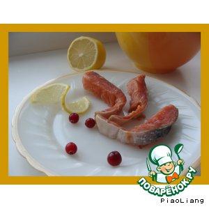 Рецепт: Малосольная красная рыба