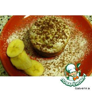 Рецепт: Банановые кексы с творогом