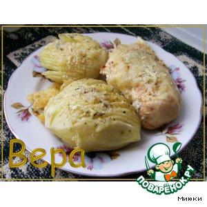 Рецепт: Картошечка в сыре