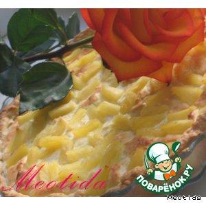 """Рецепт: Творожный пирог """"Очаровательной тигрице"""""""
