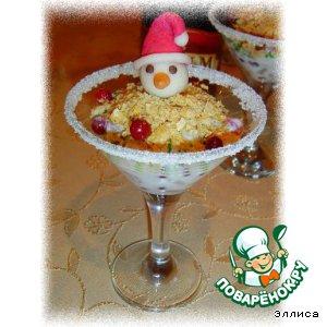 Десерт Зимняя сказка