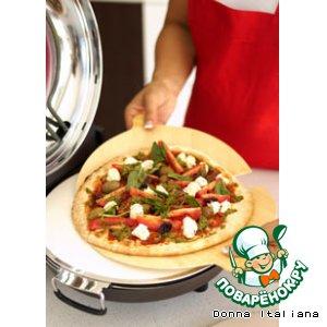 Рецепт: Пицца, как в дровяной печи