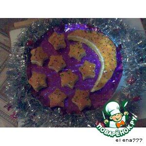 """Рецепт: Пирожные """"Ночь перед Рождеством"""""""