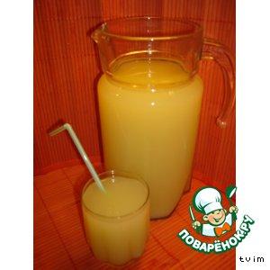 Рецепт Напиток апельсиновый «Апельсинчики - витаминчики»