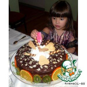 Рецепт: Легкий торт