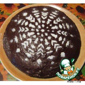 Рецепт: Шоколадный кекс-пирог