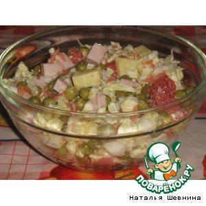 Рецепт: Салат Быстро и вкусно