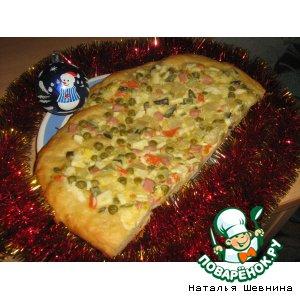 Рецепт: Пицца-оливье