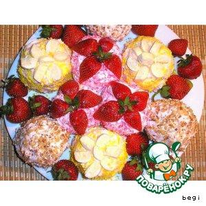Рецепт: Мини-тортики из зефира