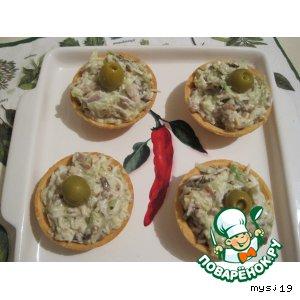 """Рецепт: Салат """"Аппетитный"""""""
