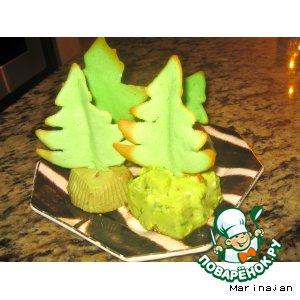 Рецепт: Закусочные пирожные из авокадо