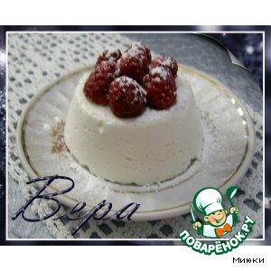 Десерт Снежная нежность