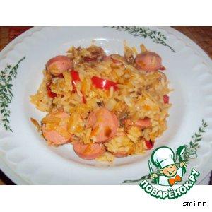 Рецепт: Рисово-овощная селянка