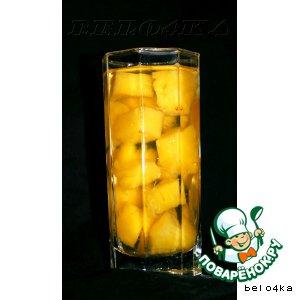 Рецепт: Компот из ананаса