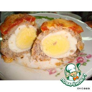 Рецепт: Зразы с яйцом